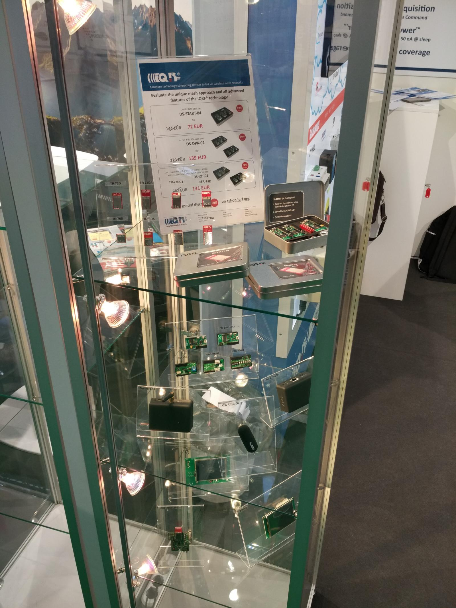products @ electronica 2018